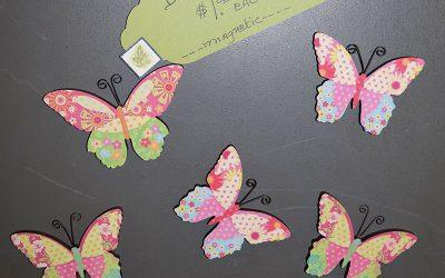 Magnet Butterflies