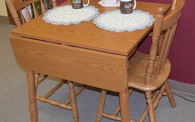 Oak Dropleaf Table