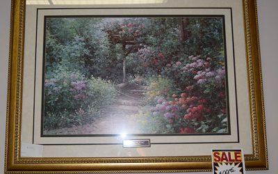 Framed Garden Print
