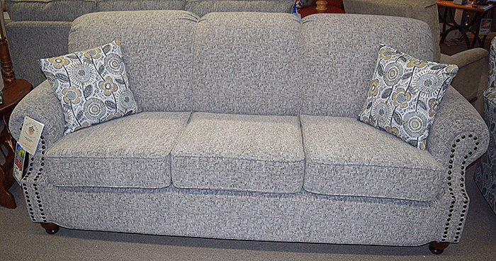 86″ Sofa with nailhead trim
